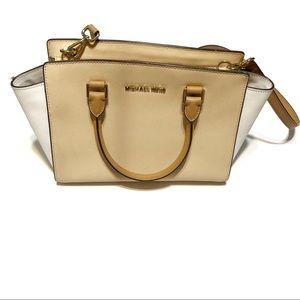 Michael Kors Selma Saffiano Leather Crossbody Bag